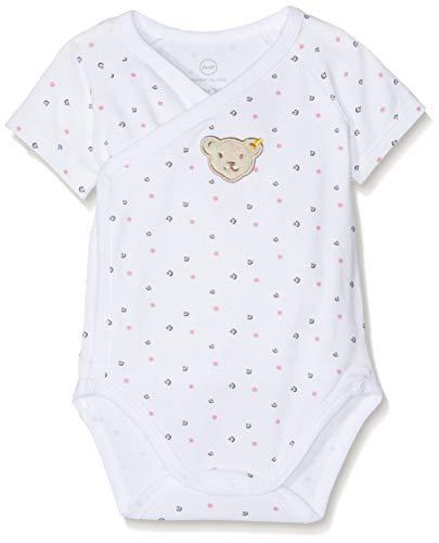 Steiff Steiff Baby-Mädchen Formender Body, Weiß (Bright White 1000), 50