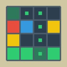 Move and Connect match 4 tiles