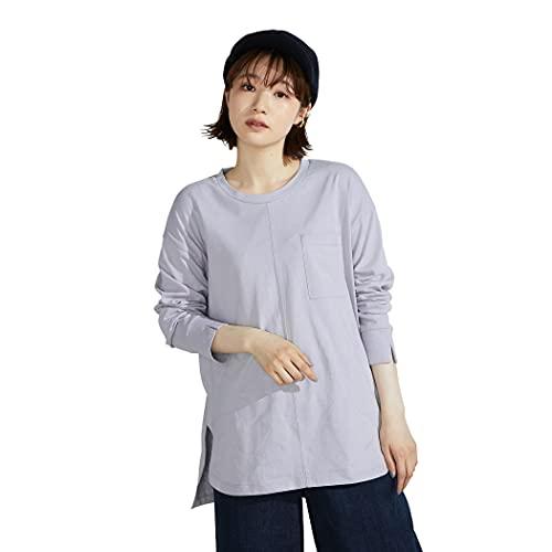 (コムサ イズム) ONIGIRI ラウンドテールTシャツ 52-68CW73-201 M ラベンダー
