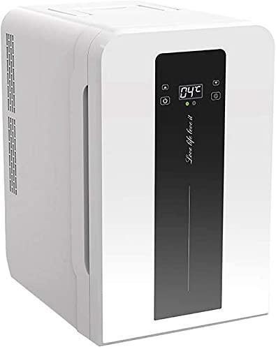 FCXBQ Refrigerador de Coche de 22L, termostato de Pantalla Digital de Doble núcleo, Ultra silencioso, de bajo Ruido, Mini Nevera, Coche, hogar, Doble Uso, refrigeración, Caja de calefacción, Nevera