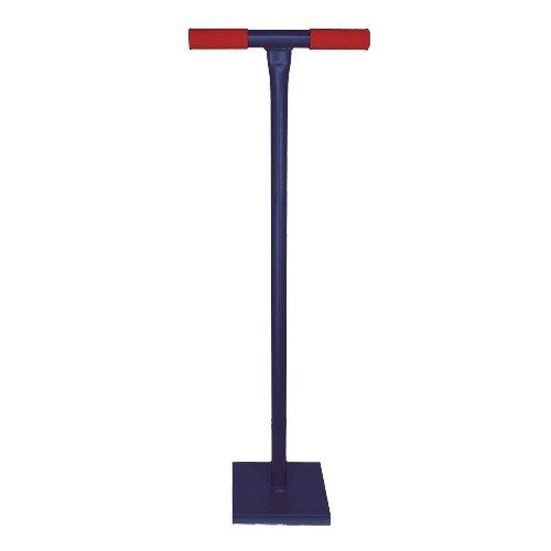 Idealspaten WEG10551 ERD-/Betonstampfer Sieger mit Kunststoffgriff in blau 20x20cm, 40 x 25 x 15 cm