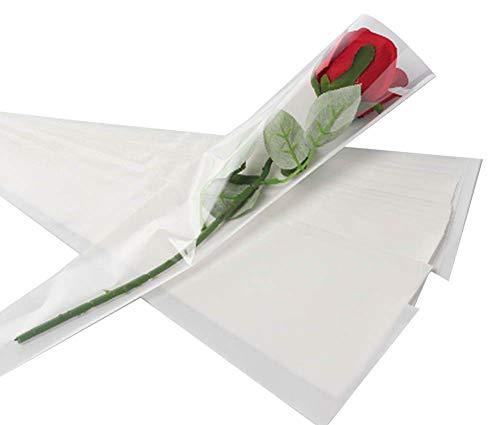 100 pcs unique rose sacs d'emballage bouquet de fleurs sacs d'emballage #19