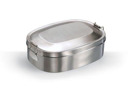 Vesper boîte Vesper boîte Petit Déjeuner à Boîte à pain acier inoxydable Petit (16x 12cm)