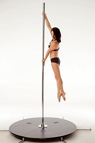 X-Pole 45mm Chrome X-Stage Lite - Portable Dance Pole