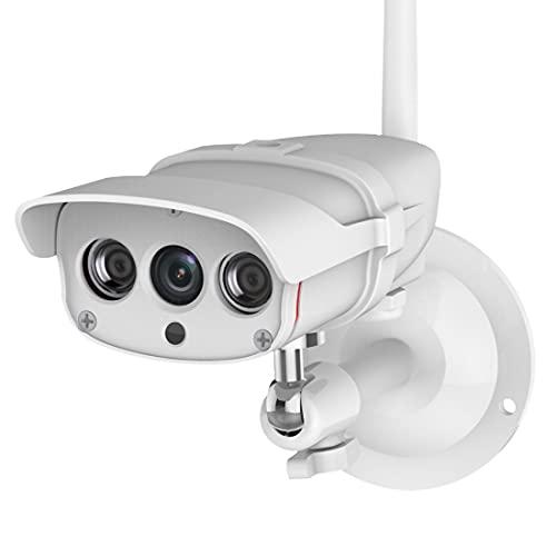 XWEM Cámara De Monitor Remoto, Red Inalámbrica 1080P WiFi Lente De 4 Mm De 4 Mm F2.1 Apertura Cámara De Vigilancia IP De 92 Grados Ángulo De Visión Cámara Impermeable
