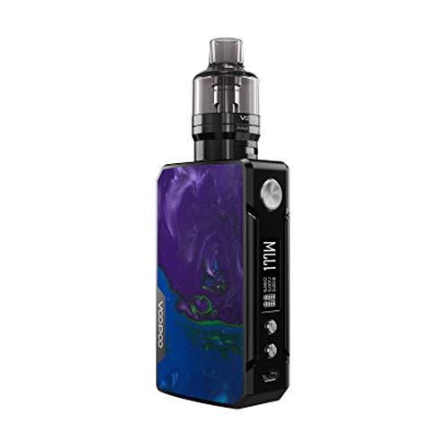 Sigaretta elettronica VOOPOO Drag 2 177W TC Box MOD Display OLED schermo, in lega di zinco e resina, Ecig senza batteria, No nicotina No E-Liquid