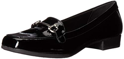 Anne Klein Women's Varina Loafer, Black, 8.5 M US