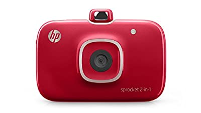 HP Sprocket 2-in-1 Portable Photo Printer & Instant Camera from