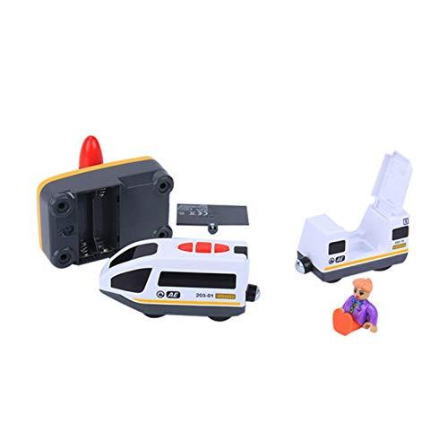 Raspbery Control Train Toy Boy Control Remoto eléctrico - Compatible con la Pista de Madera para Thomas IKEA BRIO