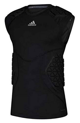 Adidas Men's Football Alphaskin Force 5 Padded Tee Tank Top Black 583TA