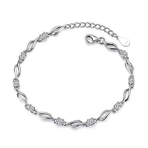 925 Sterling Silber Charm Armband für die Dekoration feiner Schmuck niedlichen romantischen Stil Frauen Mädchen Party...