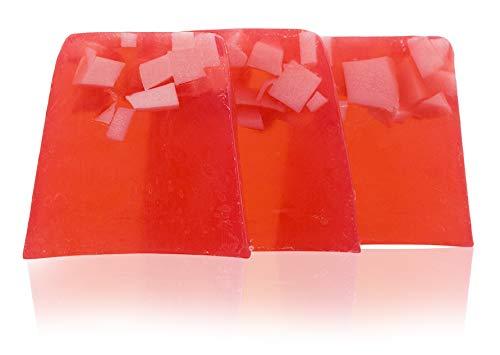 100% natürliche handgemachte Seife mit bulgarischen Rosenöl, Kakaobutter, Sheabutter. Elixier der Jugend. Hände, Füße, Haare und Körper antibakterielle und antimykotische Seife. 3x100 gr.