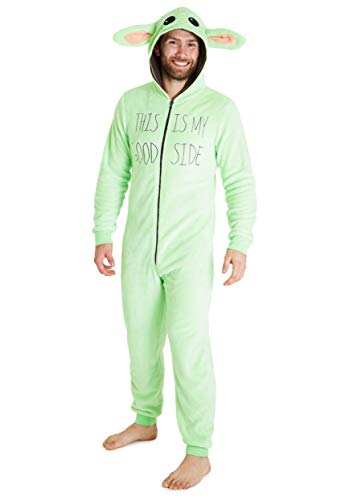 Star Wars Pyjamas for Men Women, Baby Yoda Mens Fleece Onesies, Halloween...