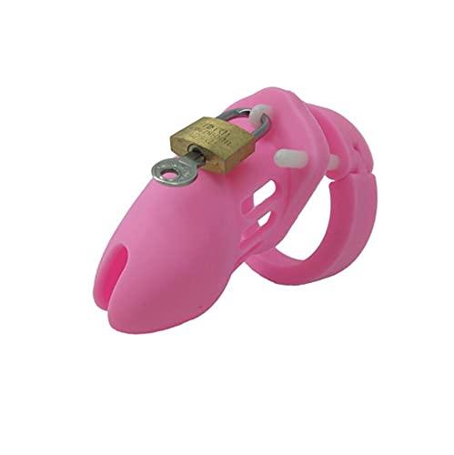 FEIPO5 Equipo de Ejercicios de sujeción de Cama de Silicona Rosa para Hombres (35 mm / 40 mm / 45 mm / 48 mm / 50 mm) -F291 (Pequeño)