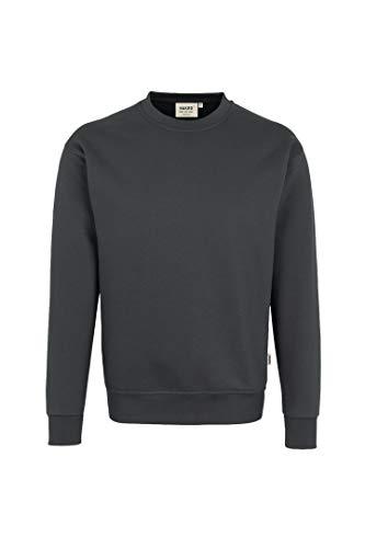 """HAKRO Sweatshirt """"Premium"""" - 471 - anthrazit - Größe: XL"""