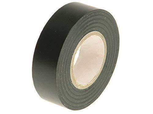 Gocableties Ruban adh/ésif marron de qualit/é sup/érieure en PVC isolant /électrique rouleau solide haute qualit/é 20/m x 19/mm
