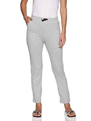 BLUE TYGA Women's Cotton Solid Pajama | Trackpants