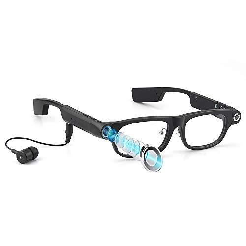 Mini Cámara Espía Oculta Gafas De Vigilancia Portátiles Con 32 GB Full...