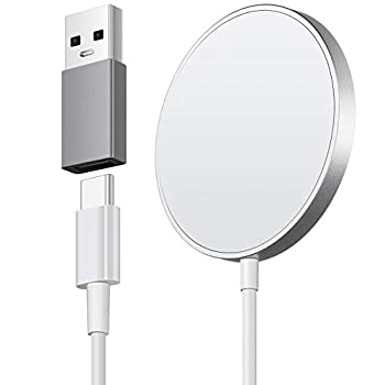 Wireless Charger Charging Pad 15W Max Fast Charging for iPhone 12/11/11 Pro/XS Max/XR/XS/X/8/8+ Galaxy Note 10/Note 10+/S10/S10+/S10E  No AC Adapter