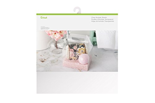 Cricut Acetate Sheets, 6 Pack 12x12