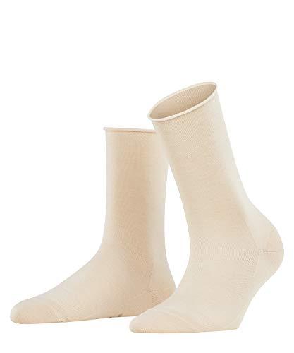 FALKE Damen Socken Active Breeze - Lyocellmischung, 1 Paar, Elfenbein (Cream 4019), Größe: 39-42