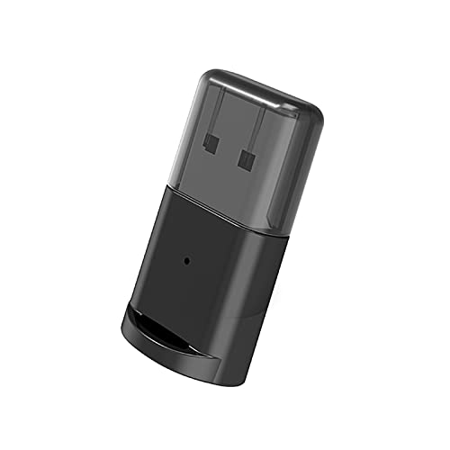 Festnight B53 BT-Senderadapter BT 5.0 USB-WLAN-Computeradapter Audioempfänger-Sender-Dongles für Laptop-Kopfhörer
