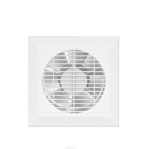 LXZDZ De escape montado en la pared del ventilador, de cristal de ventana Ventilador de ventilación Válvula de gran alcance for la ventana de conductos Carpa Baño