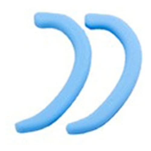 Heshan 5 pares de protectores de silicona con tamaño universal, duradero, seguro y portátil para la vida diaria