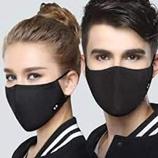 TRENDING Anti-Pollution Dust Cotton Unisex Mouth Half Face Mask (Pack of 4 pcs)