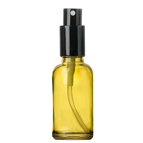 CyFe Botella de spray vacía de cristal esmerilado, botella de spray de...