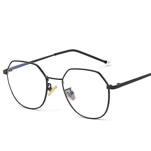 Gafas de sol para hombre Gafas de sol Unisex Retro Gafas Caja de diseño poligonal Irregular Color clásico Lente Ultravioleta Corte UV Ligero LTJHJD