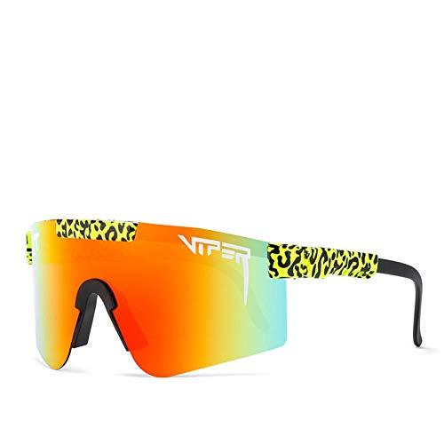 Pit Viper solglasögon, skyddande cykelglasögon, UV400 polariserade solglasögon för män och kvinnor