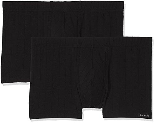 Palmers Herren Success Pants Doppelpack Boxershorts, Schwarz (Schwarz 900), Medium (2er Pack)
