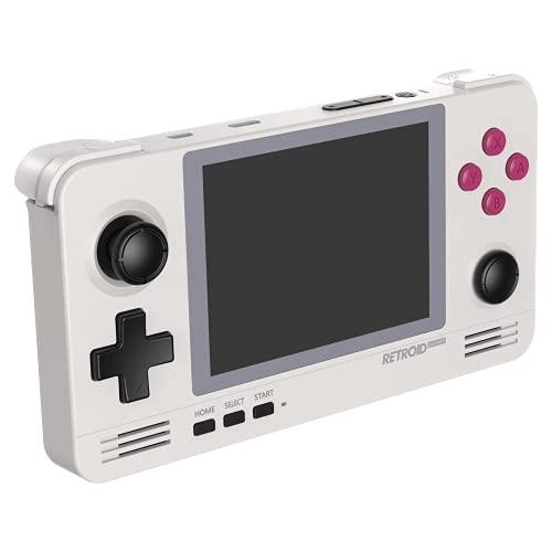 Retroid Consola de juegos retro Pocket 2 con pantalla IPS de 3.5 pulgadas y sistema operativo Android 8.1 [RP2-RETRO]