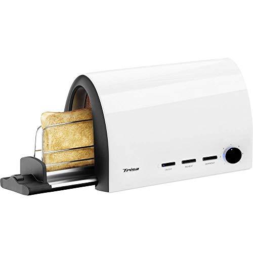 Trisa Electronics Toast & Slide Tostapane, 950 W, Bianco