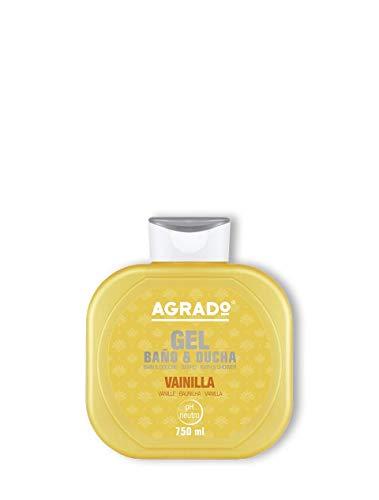 Gel de Baño y Ducha Vainilla hidratante, gel de baño PH Neutro 750 ml - AGRADO