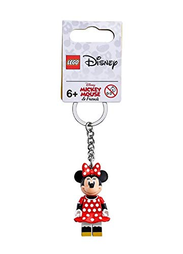LEGO Disney Minnie Mouse Minifigure Keychain 853999