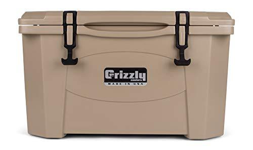 Grizzly 40 Quart Tan/Cooler