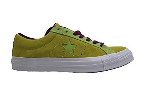Converse Unisex-Erwachsene Lifestyle One Star Ox Sneakers, Mehrfarbig (Apple Green/Sharp Green 301), 41 EU