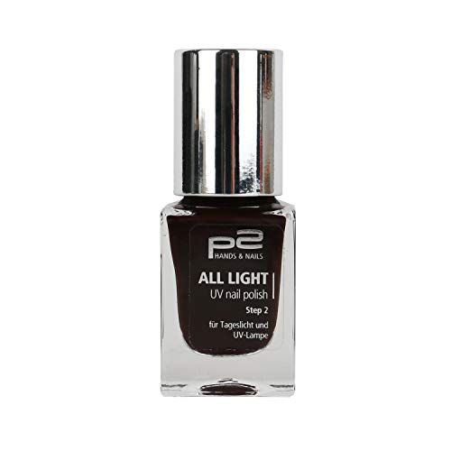 p2 cosmetics Nagellack UV Farblack 177817 All Light UV Nail Polish