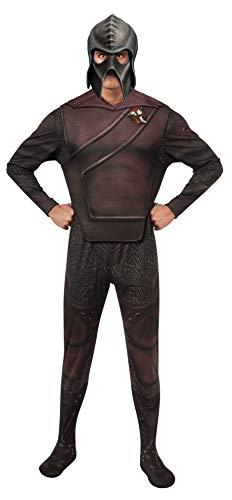 Rubie's Kostüm Star Trek Into Darkness Deluxe Klingon mit Maske -  mehrfarbig -  X-Large