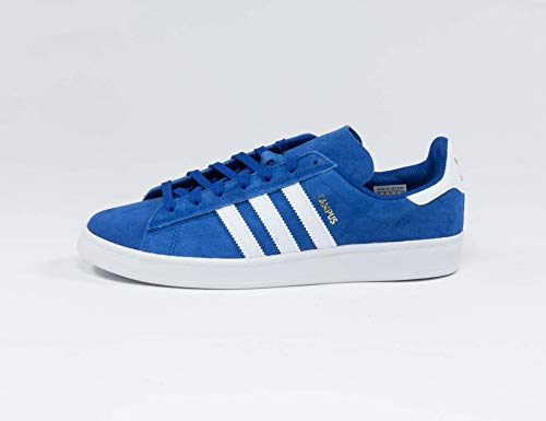 adidas Unisex Campus ADV Leichtathletik-Schuh, Royal Blue/White/Gold Metallic, 42 EU
