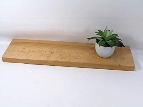 Wandregal/Wandboard Buche 50 cm Schweberegal Regal Board