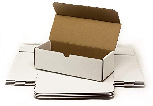 Storage Box for Toploaders and Cards in Penny Sleeves - 5 Pack - 200 Pound Test Indestructo Boxes for Regular Top Loaders - Invest x Protect (Storage Box, 5 Pack)