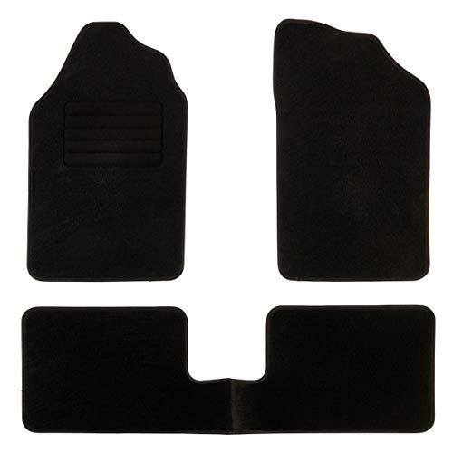 DBS Tapis de Voiture - sur Mesure pour Clio 2 (1998-2001) - 3 pièces - Tapis de Sol antidérapant pour Automobile - Moquette Classic
