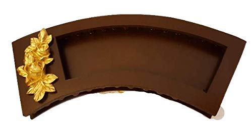 Gifting Best Wishes Wooden Arch Shaped Platter