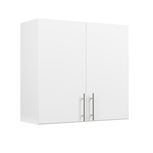 "Prepac Elite 16"" Narrow Cabinet in White"