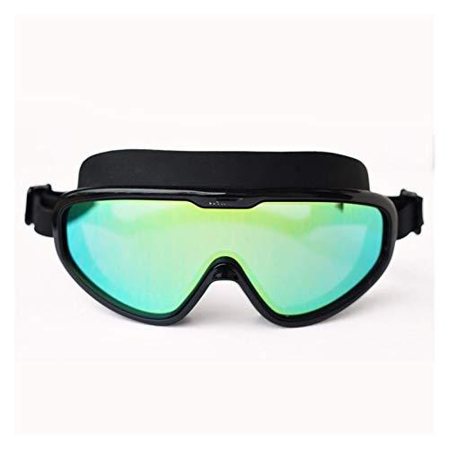 Gafas de natación Gafas de gafas de silicona suaves a prueba de agua a prueba de agua para hombres y mujeres anti-niebla y gafas anti-ultravioletas para hombres y mujeres para hombres adultos mujeres