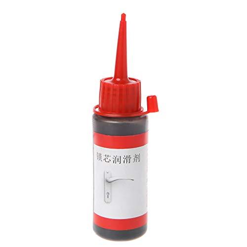 BELTI Lubricante no tóxico de 60 ml Que Mantiene la Cerradura de Seguridad de la Cubierta del Motor en Polvo de Grafito