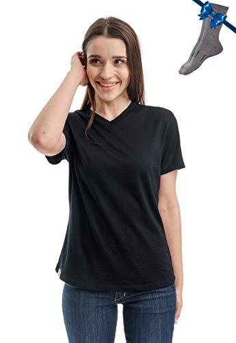 Organic Merino Wool Women's T-Shirt